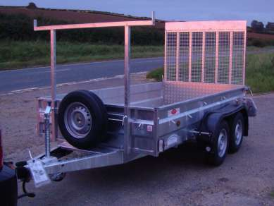 NEW GRAHAM EDWARDS 10ft GENERAL PURPOSE TRAILER
