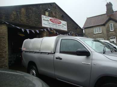 CANOPY TO FIT TOYOTA HILUX  SINGLECAB PICKUP