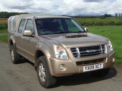 ISUZU RODEO DENVER 2.5 TD DOUBLECAB PICKUP - CRG Nichol - 4x4 Agricultural Machinery Sales and Hire Pickering North Yorkshire & ISUZU RODEO DENVER 2.5 TD DOUBLECAB PICKUP - CRG Nichol - 4x4 ...