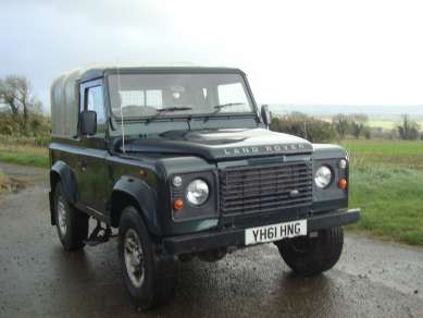 LAND ROVER DEFENDER 90 2.4 COUNTY TRUCK CAB PICKUP