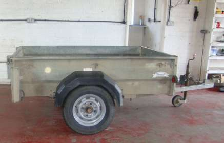 USED GRAHAM EDWARDS GENERAL PURPOSE TRAILER