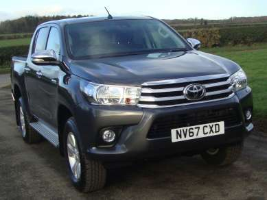 TOYOTA HILUX 2.4 D4D ICON DOUBLECAB PICKUP