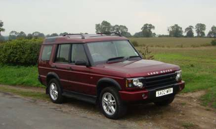 LANDROVER DISCOVERY Td5 XS AUTO 5 DOOR