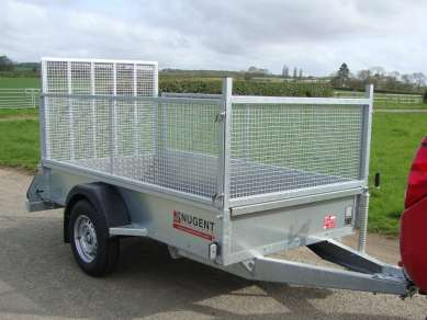 NEW NUGENT 8ft GENERAL PURPOSE  TRAILER