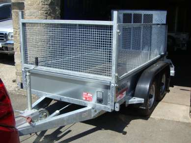 NUGENT 8ft TWIN AXLE TRAILER