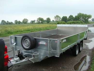 NEW GRAHAM EDWARDS TILT BED TRAILER
