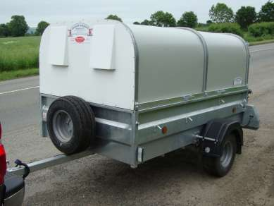 GRAHAM EDWARDS 7ft  PIG n SHEEP TRAILER