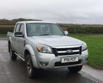 FORD RANGER 2.5 TDCI XLT DOUBLE CAB PICKUP