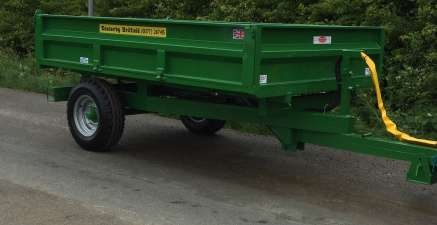 4 TONNE EASTERBY TIPPING TRAILER