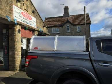 NEW GAMIC CANOPY TO FIT MITSUBISHI L200 PICKUP