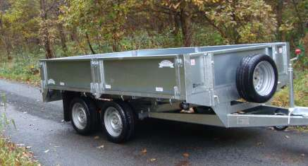 GRAHAM EDWARDS 10FT FLAT BED TRAILER