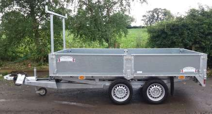 NEW GRAHAM EDWARDS 10ft FLAT BED TRAILER