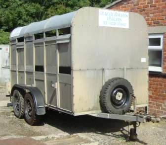 GRAHAM  EDWARDS CATTLE TRAILER