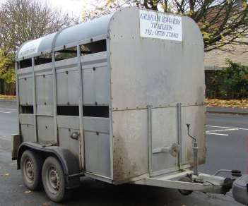 GRAHAM EDWARDS 8ft CATTLE TRAILER