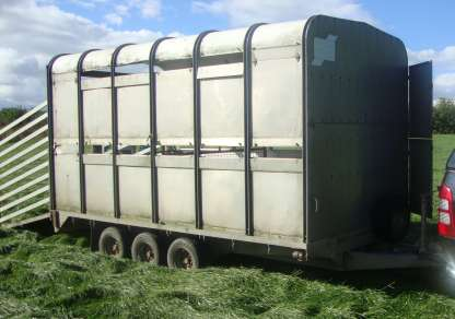 GRAHAM EDWARDS 12ft X 6fT 6 FLAT BED TRAILER