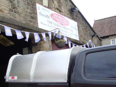 NEW GAMIC ALLOY CANOPY TO FIT TOYOTA HILUX