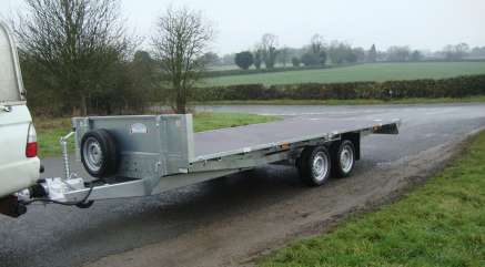 GRAHAM EDWARDS 16ft FLAT BED TRAILER