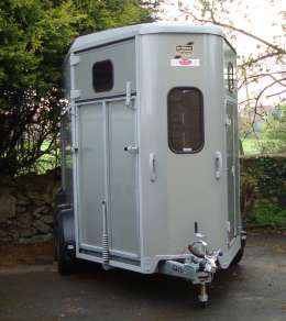 IFOR WILLIAMS HB511 DOUBLE HORSE TRAILER