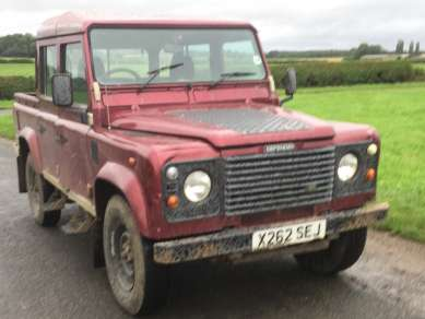 LAND ROVER 110 Td5 DOUBLECAB PICKUP