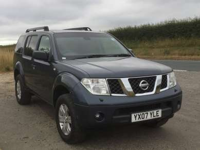NISSAN PATHFINDER 2.5 Dci 6 SPEED SPORT 5 DOOR
