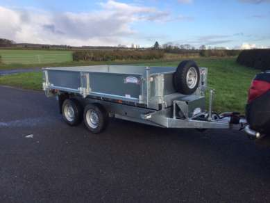 NEW GRAHAM EDWARDS 10FT TIPPING TRAILER