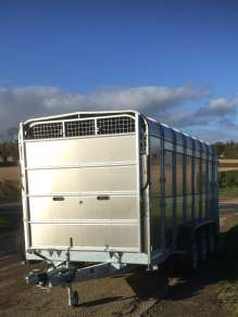 IFOR WILLIAMS 14 FT CATTLE TRAILER