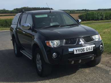 MITSUBISHI L200 2.5 Did WARRIOR D/CAB PICKUP