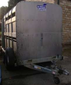 IFOR WILLIAMS 8ftCATTLE TRAILER