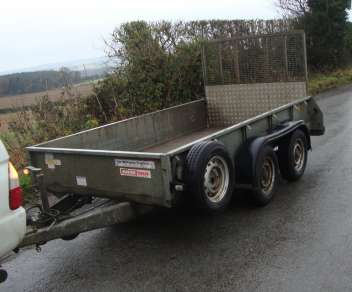 IFOR WILLIAMS 10ft GD TRAILER