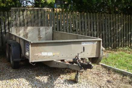 USED IFOR WILLIAMS PLANT TRAILER