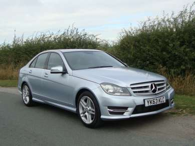 MERCEDES BENZ C CLASS 180 AMG SPORT 4 DOOR SALOON