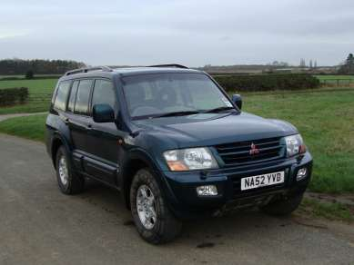 MITSUBISHI SHOGUN 3.2 DID 5 DOOR