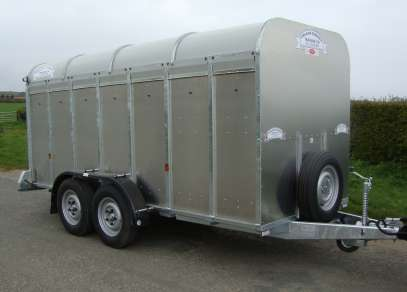 NEW GRAHAM EDWARD 14FT CATTLE TRAILER