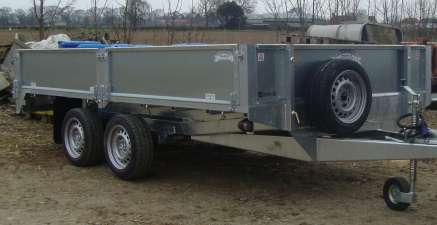 NEW GRAHAM EDWARDS FLAT BED TRAILER