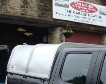 New Gamic Canopy To Fit Ford Ranger Dcab Pickup Crg