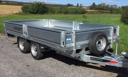 NEW NUGENT 12FT FLAT BED