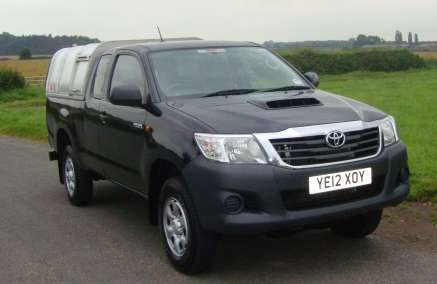 TOYOTA HILUX 2. 5 D4-D EXTRA CAB PICKUP
