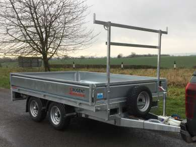 NEW NUGENT 10ft FLAT BED TRAILER