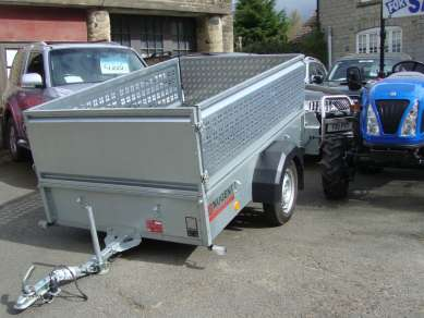 NEW NUGENT 7ft UTILITY TRAILER