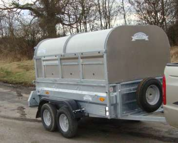 NEW GENERAL PURPOSE 7FT X 4FT TWIN AXLE