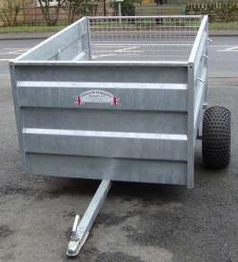 NEW GRAHAM EDWARDS 6ft ATV TRAILER