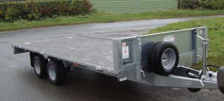 NEW GRAHAM EDWARDS 14FT  FLAT BED TRAILER