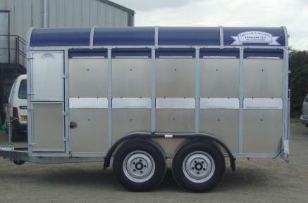 NEW GET 12FT CATTLE TRAILER