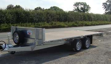 NEW GRAHAM EDWARDS 14ftTWIN AXLE FLAT BED