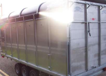 NEW GET 14FT TRI  AXLE CATTLE TRAILER