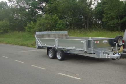 NEW GRAHAM EDWARDS TRAILER TILT BED