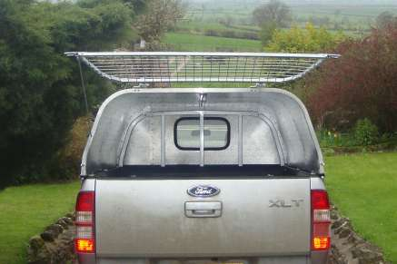 NEW GAMIC ALLOY PICKUP CANOPY - CRG Nichol - 4x4 Agricultural Machinery Sales and Hire Pickering North Yorkshire & NEW GAMIC ALLOY PICKUP CANOPY - CRG Nichol - 4x4 Agricultural ...