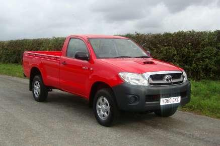 New Toyota Hilux Hl2 Singlecab Pickup Crg Nichol 4x4