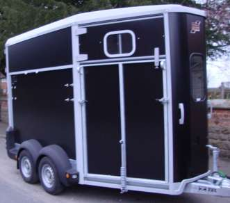 IFOR WILLIAMS HB511R DOUBLE HORSE TRAILER