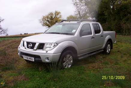 NISSAN NAVARA D40 Dci OUTLAW DOUBLECAB PICKUP
